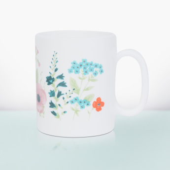 Essence Rose Pompon Printed Mug - 32 ml