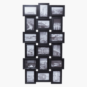 Pablo 18-Opening Multi-Aperture Photo Frame - 4x6 inches