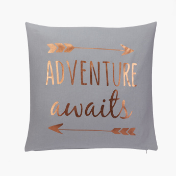 Adventure Printed Filled Cushion - 45x45 cms