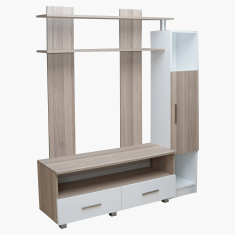 Tria Matte 2-Drawer 1-Door Wall Unit