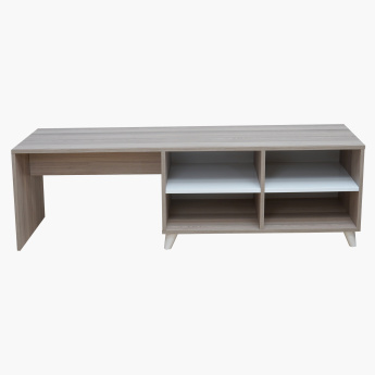 Lara Rectangular Low TV Unit for TVs up to 70 inches