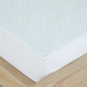 Cooling Gel Twin Mattress Protector - 120x200 cms