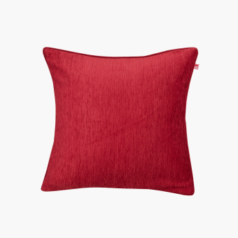 Chenille Textured Cushion Cover - 40x40 cms