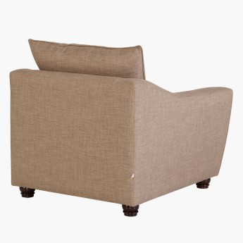 Docila Single Seater Sofa with Curved Arms