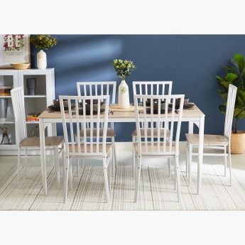 Costagat Matte 6-Seater Dining Set