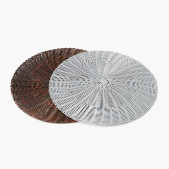 Hima Patterned Circular Placemat