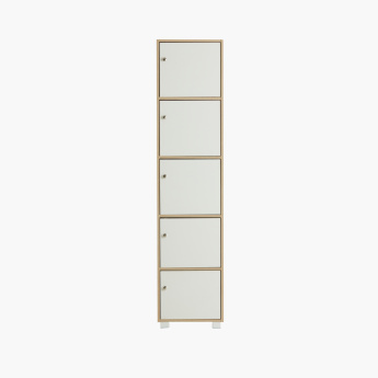 Enkel 5-Door Storage Unit - 38x40x170 cms