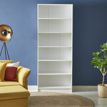 Oslo Avian 6-Tier Bookcase - 80x28x202 cms