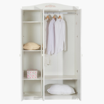 Ariena 3-Door Wardrobe with Mirror