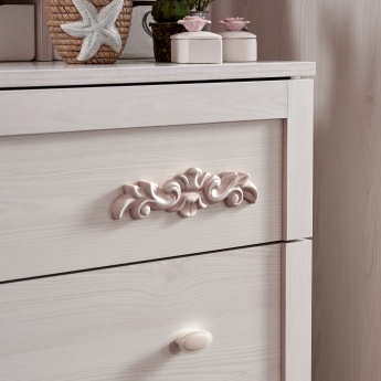 Ariena 3-Drawer Dresser with Mirror