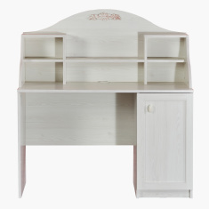 Ariena Study Desk with Hutch