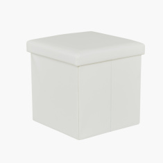 Space Folding Storage Ottoman with Lid