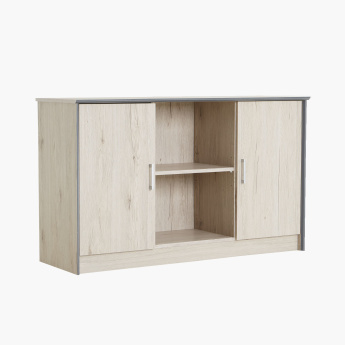 Etzy Low Bookcase with 2-Door