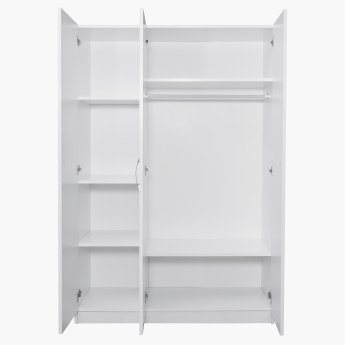 Sunrise 3-Door Wardrobe with Mirror
