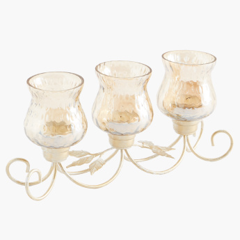 Madrid 3-Section Votive Candle Holder
