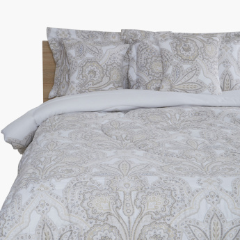 Metra Printed 5-Piece King Comforter Set - 220x240 cms