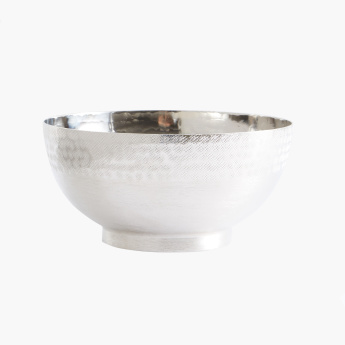 Fleur Hammered Decorative Bowl