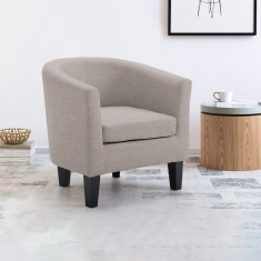 Joy Textured 1-Seater Tub Chair