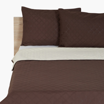 Blair Quilted 3-Piece King Bed Spread Set - 240x260 cms