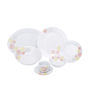Alison 22-Piece Printed Dining Set