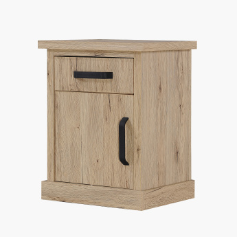 Glasgow Night Stand with 1 Door and 1 Drawer