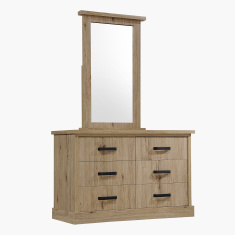 Glasgow 6-Drawer Master Dresser without Mirror
