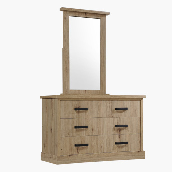Glasgow Mirror for 6-Drawer Master Dresser