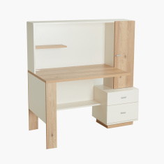 Moonlight Study Desk with Drawers