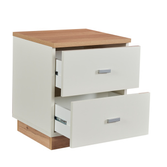 Moonlight Nightstand with 2-Drawers