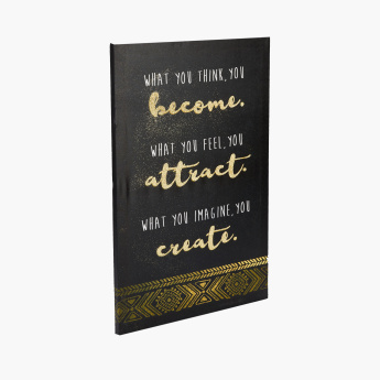 Attract Printed Canvas Framed Wall Art
