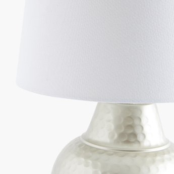 Hammered Table Lamp - 55.5 cms