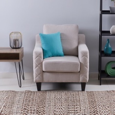 Sky 1-Seater Sofa with Scatter Cushion