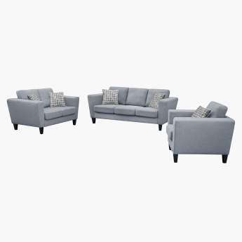 Cathy 1-Seater Sofa with Scatter Cushion