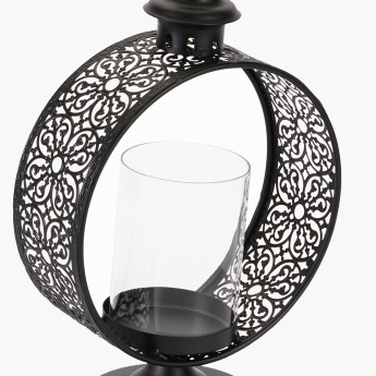 Single Circular Candle Holder