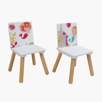 Ariena Printed 2-Seater Table Set