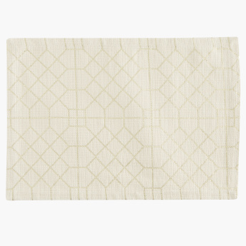 Bennett Foil Printed Rectangular Placemats - Set of 2