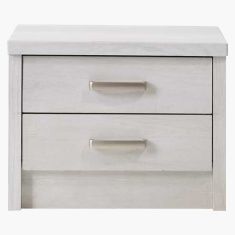 Belinda Veneer 2-Drawer Nightstand