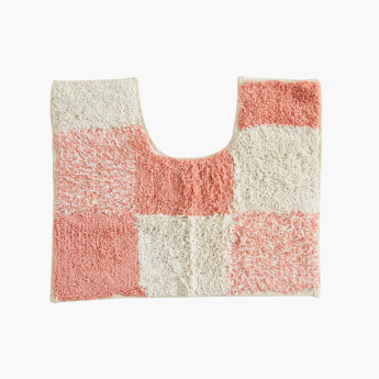 Checker 2-Piece Anti-Skid Contour and Bathmat Set