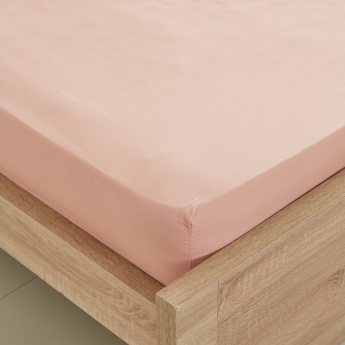Elementary Single Fitted Sheet - 90x200 cms