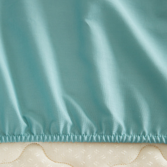 Elementary King Fitted Sheet - 180x200 cms