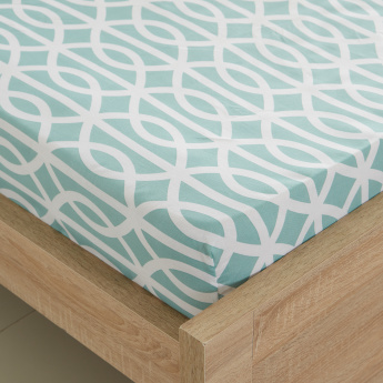 Atlanta Lauren Single Fitted Sheet - 90x200 cms