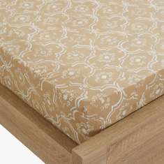 Alvine Twin Fitted Sheet - 120x200 cms