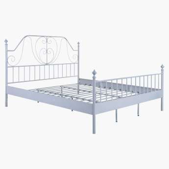 Melissa Metal King Bed - 180x200 cms