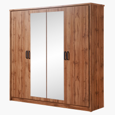 Peyton 4-Door Wardrobe with 2-Mirrors