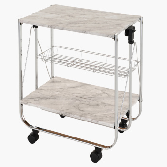 Marbella Folding Kitchen Trolley