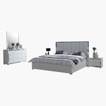 Hillary 5-Piece King Bedroom Set - 180x200 cms