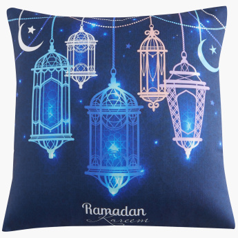 Ramadan Digital Printed Cushion Cover - 45x45 cms