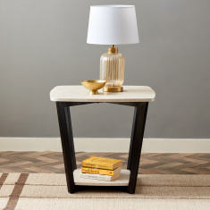 Fiona Square-Shaped End Table