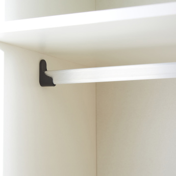 Plus 3-Door Wardrobe with Mirror