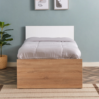Plus Single Bed with 2-Drawers - 90x190 cms